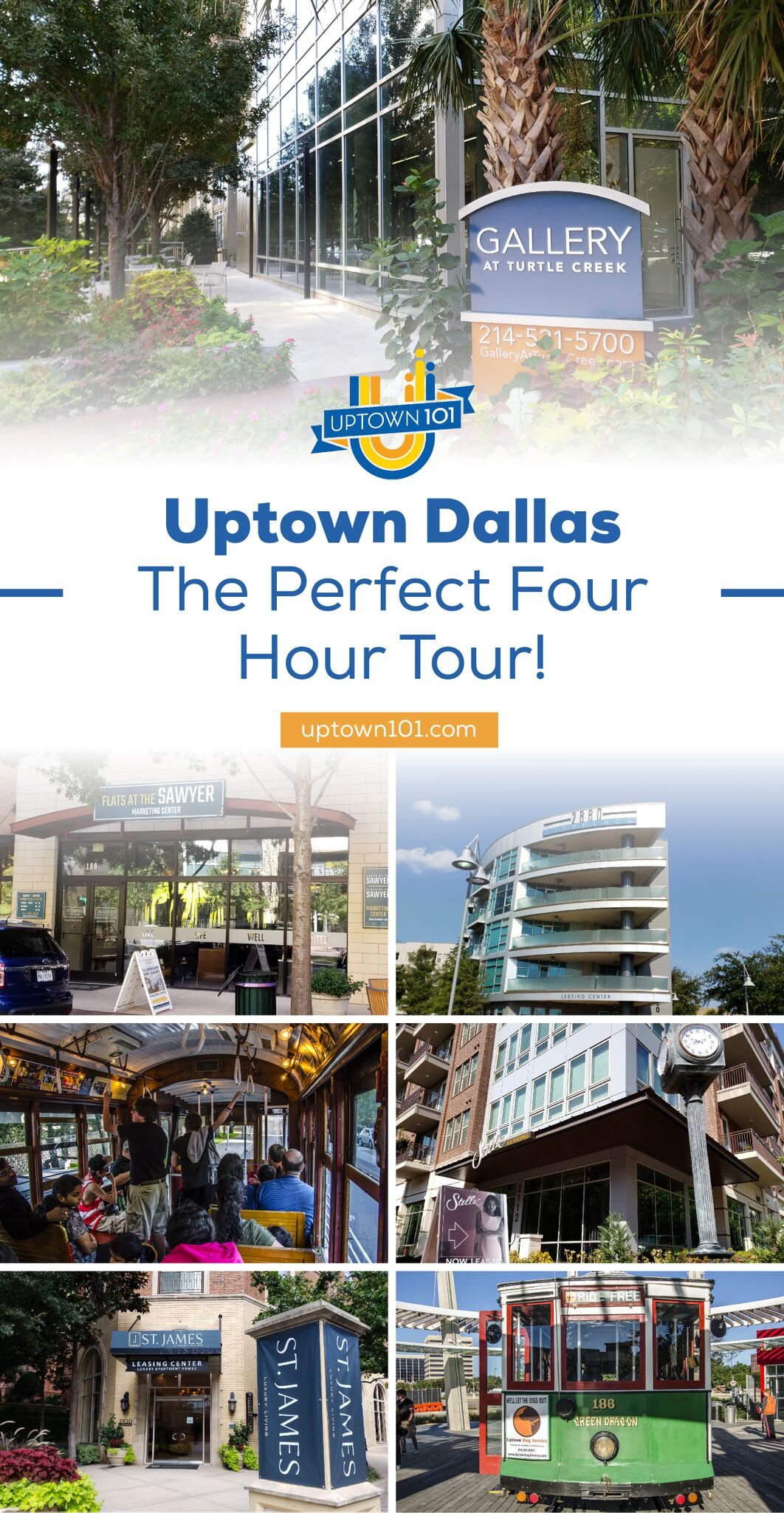 Four Hour Uptown Dallas Tour