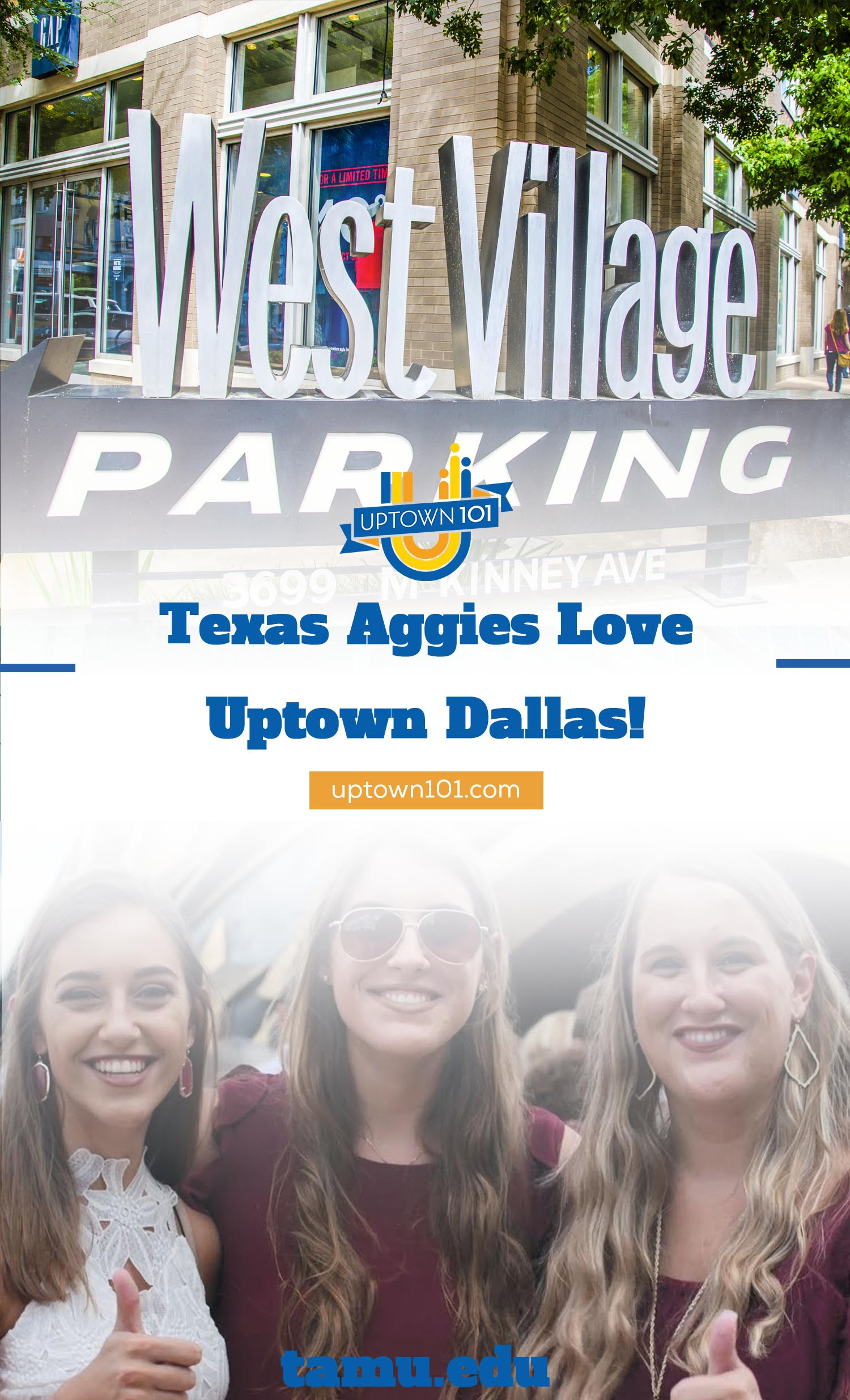 Texas A&M Aggies Love Uptown Dallas