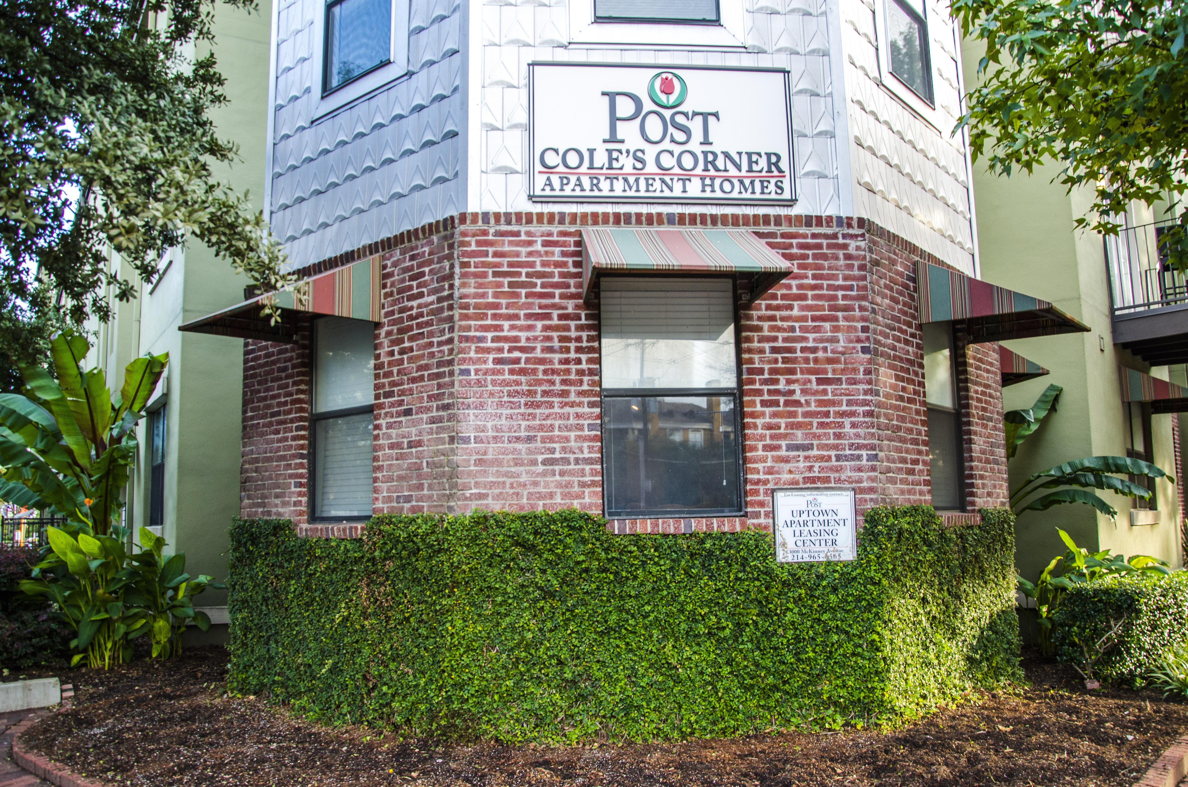 Post Coles Corner