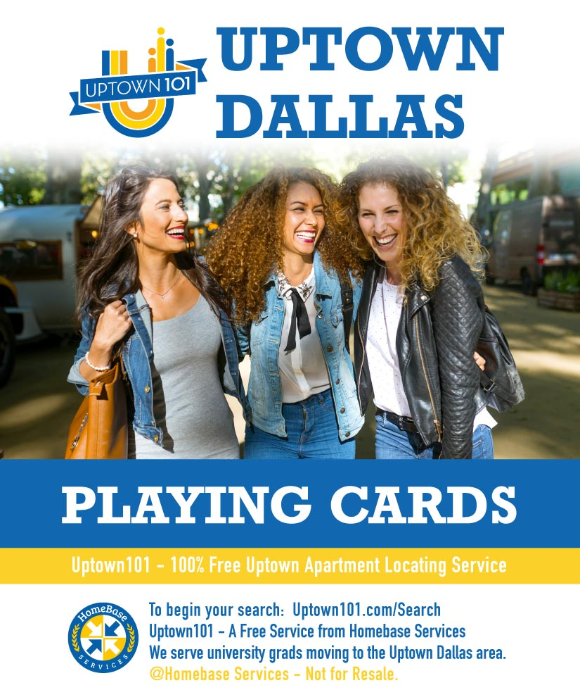 Uptown Dallas Playing Cards
