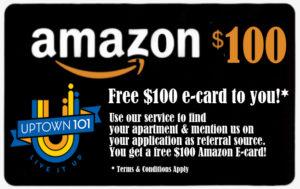 Uptown101 Amazon card